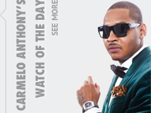 carmelo-anthony partner in Haute Time